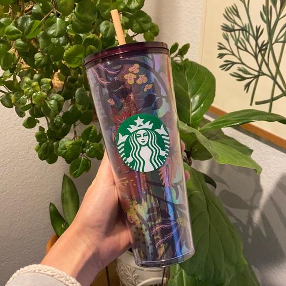 Starbucks tumbler + foil fall 2021 + BNWT